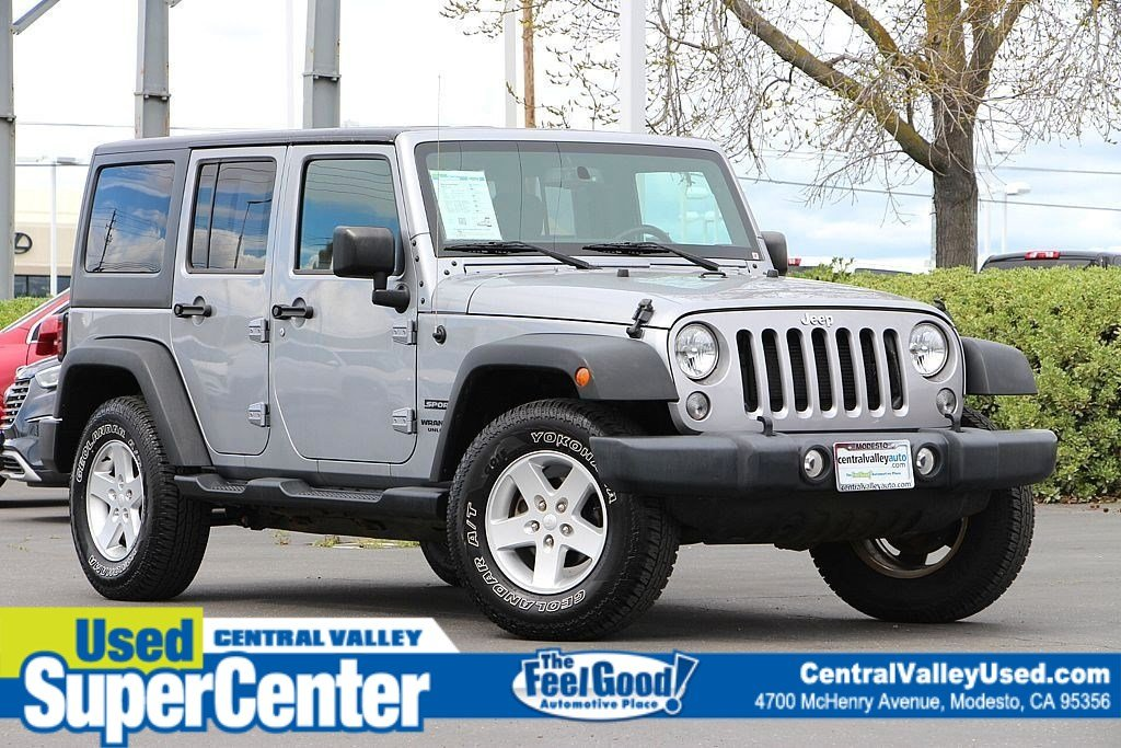 Certified Pre Owned 2016 Jeep Wrangler Unlimited Sport