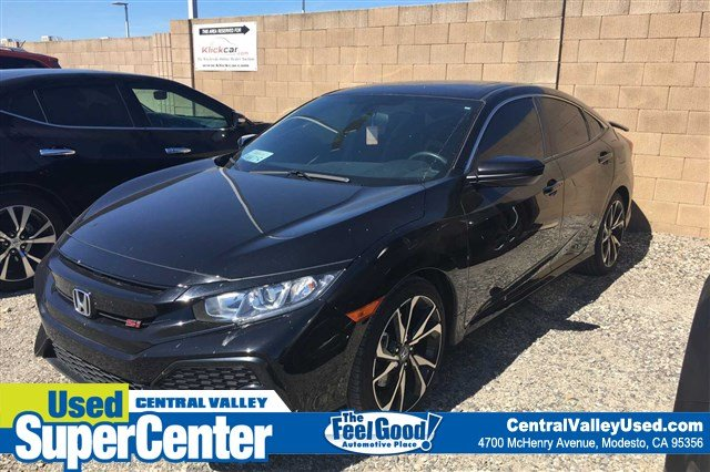 Pre-Owned 2018 Honda Civic Si Sedan Si