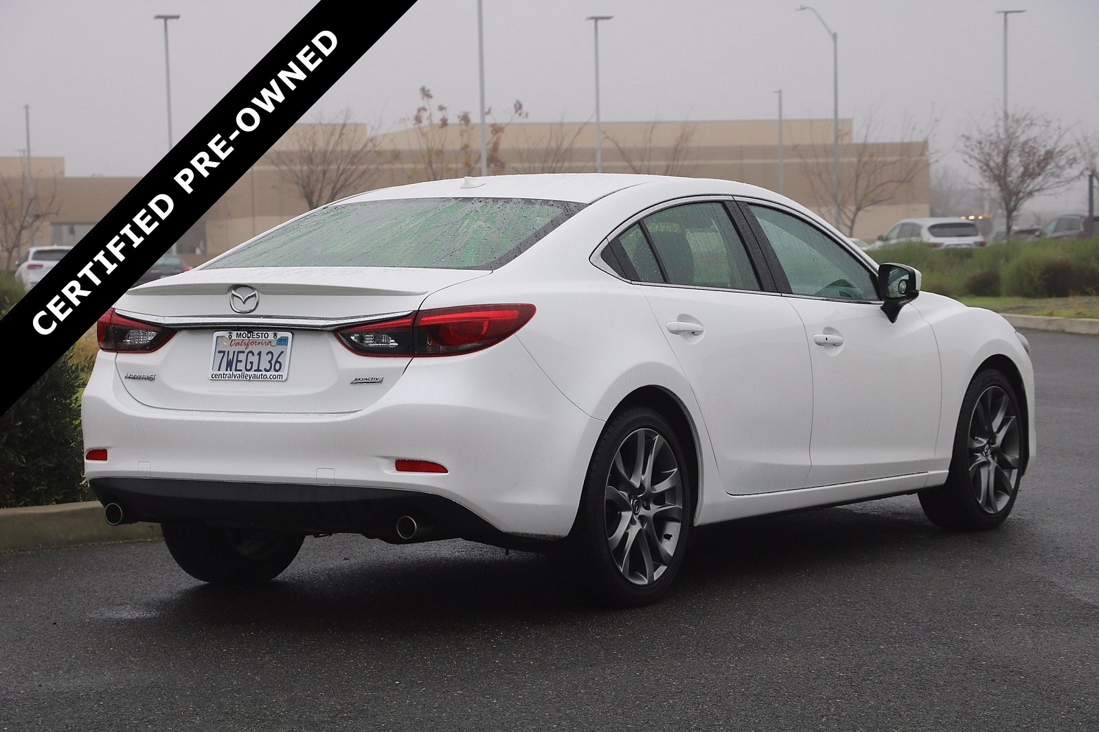 Pre-Owned 2017 Mazda6 Grand Touring